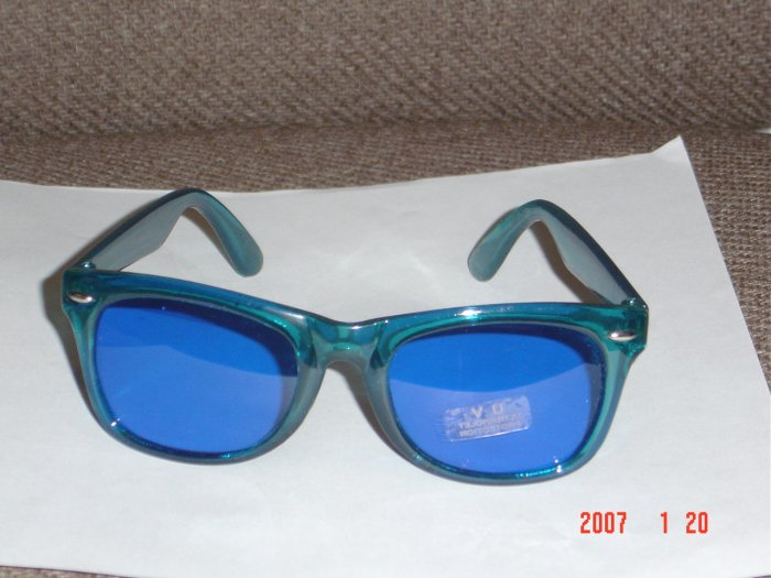 Buddy Holly Nerdy Glasses Blue Lens and Frame