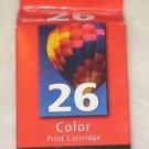 Genuine Lexmark 26 Color Ink Cartridge NEW