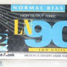 Radio Shack LN 90 Cassette Tapes Normal Bias 2 PACK NEW SEALED
