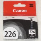 NEW Genuine CANON PIXMA CLI-226BK BLACK INK CLI-226BK 9ml Canon 226