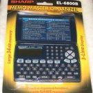 Sharp Electronic Organizer Memo Master EL-6800B PDA NEW