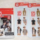 One Direction 1D Collectible IPOD TOUCH 4 HARD CASE W/ CHARM AND STICKERS NEW