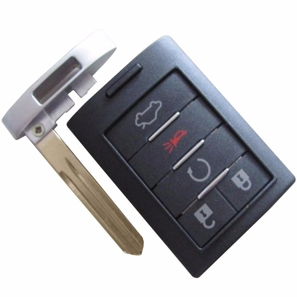 New Key Remote CADILLAC FOB shell case 5 button ship 24 hrs LIFE warranty