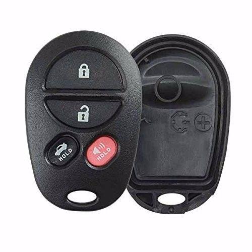 New Key Fob Keyless TOYOTA 2004-2013 remote 4 button SHELL US LIFETIME WARRANTY