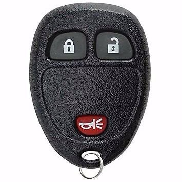 NEW Key remote Fob SHELL case GMC SIERRA 3 BUTTON LIFETIME wrrty ships 24 hrs