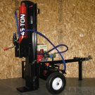 45 Ton Hydraulic GAS Powered 15HP Log / Wood Splitter 4 Way Wedge Electric Start