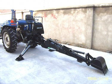 New PTO 6600 Backhoe Farm Tractor Attachment BH6 BH6600 Category 1 Hitch John Deere