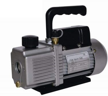 6.0 CFM Two 2 Stage 1/2HP Vacuum Pump AIR CONDITIONER REFRIGERATION