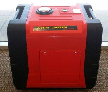 HUGE 5.5KW 5500 Watt Digital Inverter Gas Gasoline Generator RV Camping
