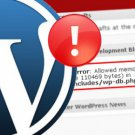 Fix Your Wordpress Problem, Error or Issue FAST