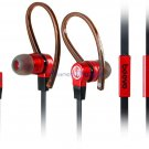 HiFi Stereo Ear Suspension Earphones with Microphone, Earhook, iphone, Audio