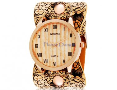 Gorgeous Retro Style with Roman Numerals Women's Wrist Watch