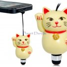 Lucky Cat Maneki Neko Anti Dust  Stylus for iPhone, iPod, iPad Audio 3.5 mm Jack fits