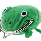 Cute Frog Plush Coin Purse (Green)