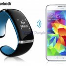 Smart Bluetooth Bracelet with Call Answering, Music & Pedometer 4 Smart Phones, Apple, Android