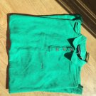 Men Patagonia Green Polo Shirt Size XXL Bright Light Color Golf Sport style NEW