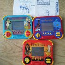 Set of 3 Vintage Disney Electronic Hand Video Games Aladdin Lion King Pocahontas