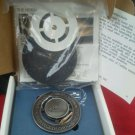 Pewter Cadillac 1 year Grille Medallion Emblem Heritage of Ownership Delorean