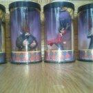 Set of  4 Harry Potter Hero Series hermione Dumbledork Hagrid Mini Figurine Set