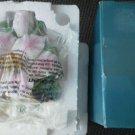 Lily Nightlight Avon Large Ceramic Flower Buds Pink 3D Floral Bouquet Light NEW