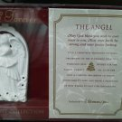 Roman The Angel ornament Now and Forever God Bless you Keep Near Faith Strong