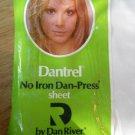 Vintage Dantrel No Iron Dan Press Double Flat Sheet White Celanese Fortrel NEW