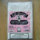 Vintage La Pauline Mattress Cover Cast Iron Full size Zip Protect Hold Shape NEW