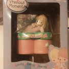 Precious Moments October Covered Box Enesco 2003 Angel Blonde Girl Heart NEW