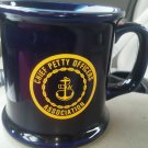 Chief Petty Officers Association mug Cleveland Ohio 1987 USN Navy Coffee Tea NEW
