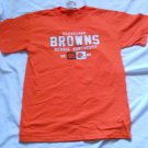 Cleveland Browns Dennis Northcutt WR Orange T Shirt NFL Players No 86 NEW Large