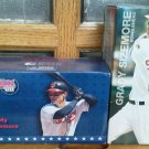 Set of 2 Grady Sizemore Cleveland Indians Convertible Car Batting Bobblehead NEW