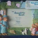 Berenstain Bears Photo Frame 5 x 3 1/2 1993 Mama Papa Sister Brother Dog 3D NEW