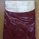 Imperial Damask tablecloth 60 84 Oval Burgundy Red Elegant Classic Regal Print