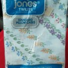 Vintage Morgan Jones Twilite pillowcases Set of 2 Flower No Iron NEW Made in USA