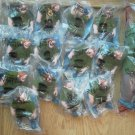 Lot of 18 Burger King Toy Quasimodo Figure Plush Toy Puppet Hunchback Notre Dame