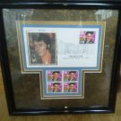 Elvis Presley 29 cent STAMP block Professionally Framed Picture Frame First Day