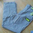 Ladies Lee Khakis Size 14 Black White Check Pants Slacks Stretch Stain Release