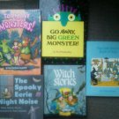 Set 9 kids Witch Monsters Stories Spooky Noise Reading books Children Hardcover