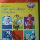Scott Foresman Trade Book Library Teaching Guide Reading Street Grade 5 Plan key