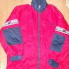 Men Cleveland Indians Winter Statium Quilted Long Coat Baseball Size XL Jacket