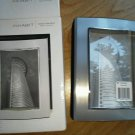 INHABIT Contours Silver Album 4 x 6 Inch Photo Holder Holds 80 Pictures NEW