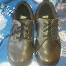 Boys Brown Dress Shoes 13W Madison Avenue Tie Darren Jr casual School Tread