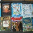Set 10 Disney Bedtime Dinosaur Tales Peter Pan Story a day Reading book Children