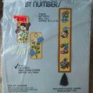Butterfly Needlepoint set 2 Door Knob Cover yarn 8 pc Extra plastic Canvas Rd Sq