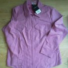 Sonoma Mauve Shirt Zipper Front Fitted Size XL Rose Super Butter Soft Misses NEW
