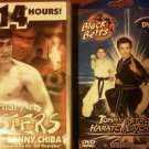Martial Arts DVD Masters Bruce Lee Sonny Chiba 6 Movies Street Fighter Fist Fury