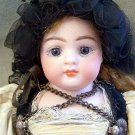 "9""Antique All Original Simon & Halbig 950 Closed Mouth Doll"