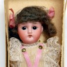 "8"" Antique German Bisque Doll All Original Still in Box"