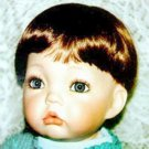 "Global Modacrylic "" Toddler"" Doll Wig Size 7 - 8"