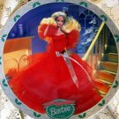 1988 Happy Holidays Barbie Christmas Plate